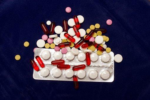 scatola di pastiglie